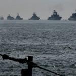 Флот РФ в порту Тартус