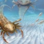 ископаемый скорпион