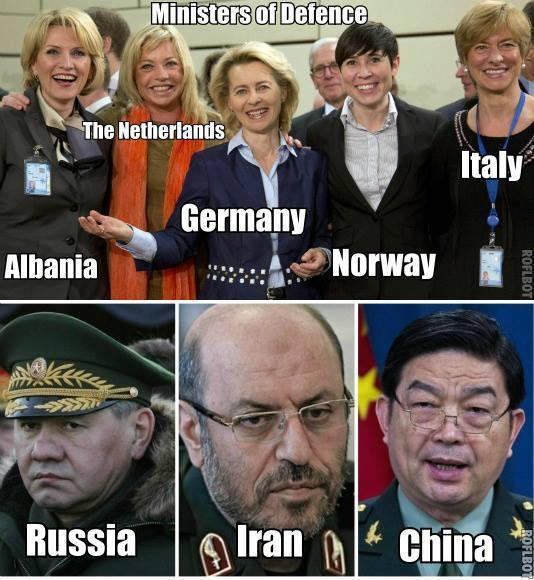 4   Министры обороны всякие-разные